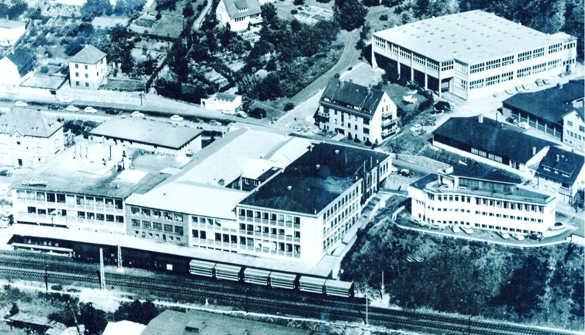 Alte Hallen der Bornebusch GmbH